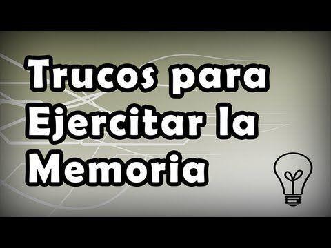 Trucos para ejercitar la memoria