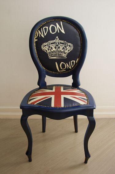 London Medallion Chair