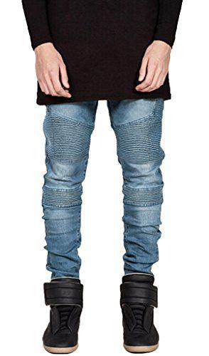 Dinamit Mens Lark Wash Straight Leg Jeans *** Click image for more details.