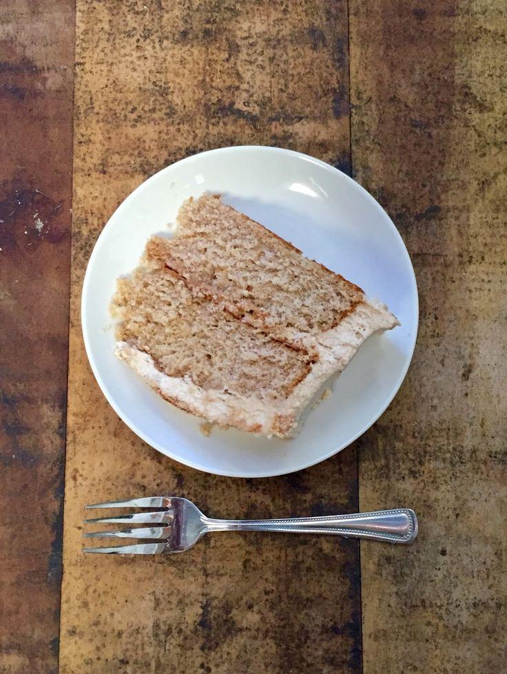 Göttin des Backens: Snickerdoodle-Kuchen mit zimtbrauner Zuckerbuttercreme
