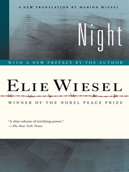 an account of the holocaust in elie weisels novel night Examination of the book, night shs 9th grade la class learn with flashcards, games, and more — for free search  night: elie wiesel vocabulary 10 terms.