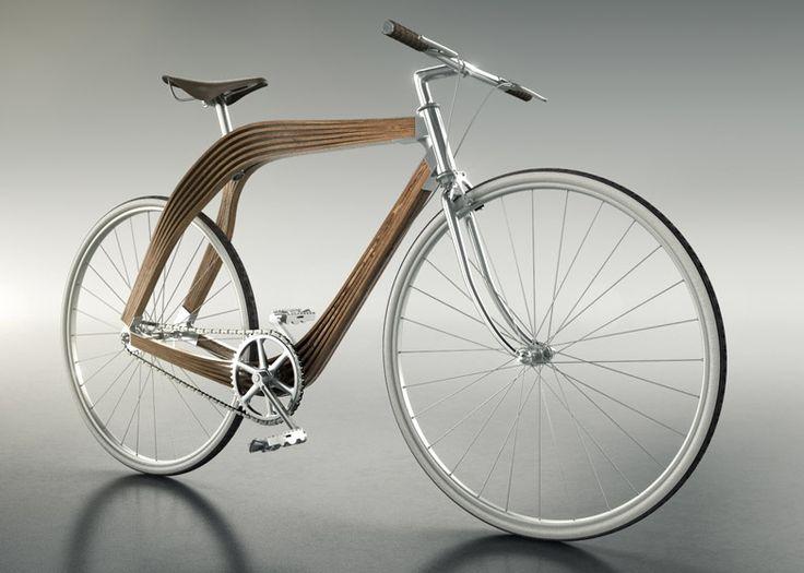 drewniany rower / wooden bike