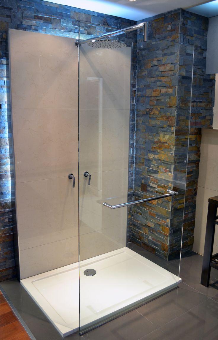 Mejores 14 im genes de duchas e hidromasajes en pinterest duchas y vestidor - Cabina ducha rectangular ...