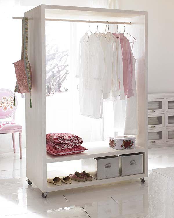 Mobile closet.