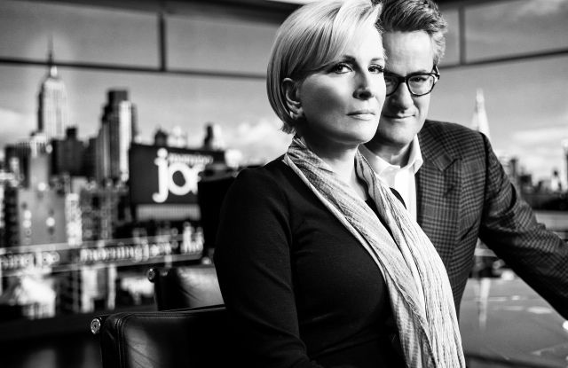 Mika Brzezinski and Joe Scarborough Morning Joe