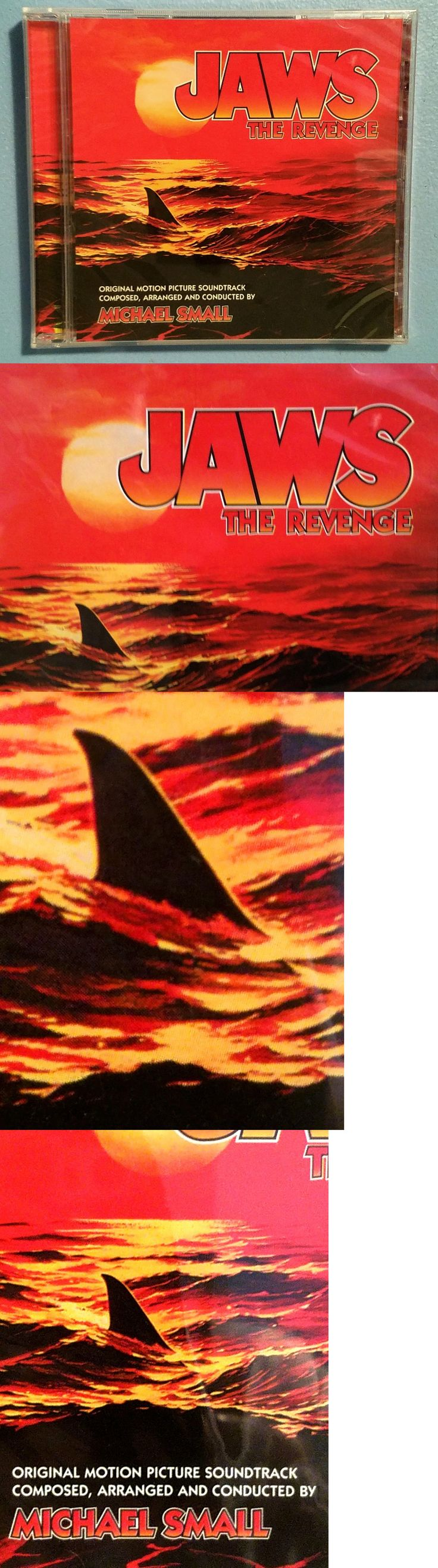 Music Albums: Jaws The Revenge Original Rare Promotional Soundtrack Cd Sealed Mint -> BUY IT NOW ONLY: $75 on eBay!