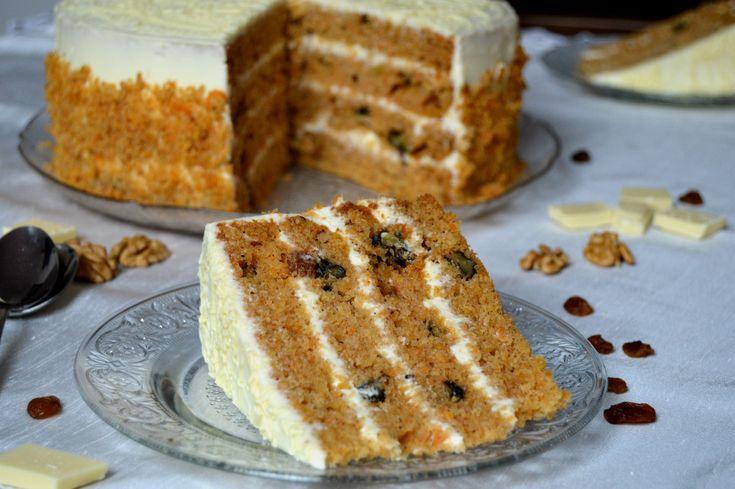 Miremirc - Tort de morcovi ( Carrot cake )
