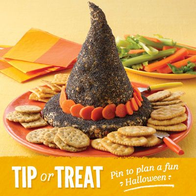 Cheesy Witch Hat Recipe from Land O'Lakes