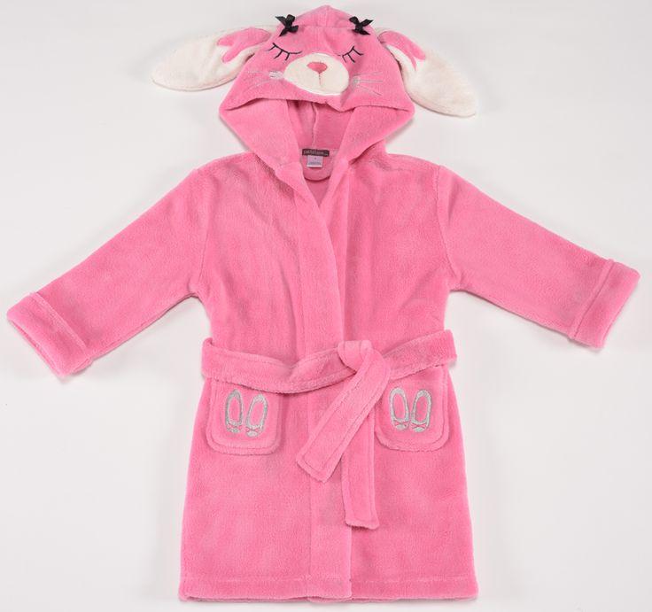 Petit Lem pink bunny robe $38.95  http://www.planetpyjama.com.au/dressing-gowns/