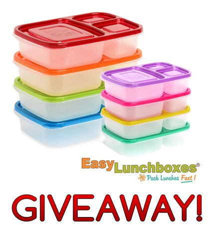 easylunchboxes best easy lunch box container giveaway bento supplies i love pinterest. Black Bedroom Furniture Sets. Home Design Ideas