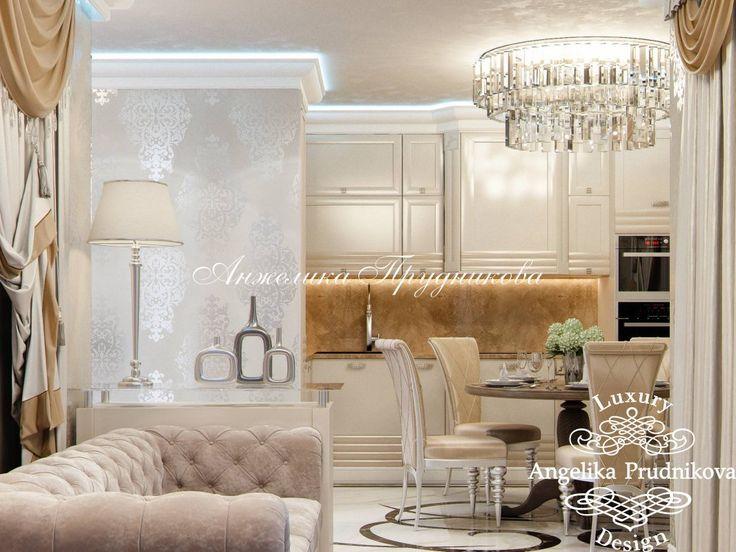 Дизайн Проект интерьера маленькой квартиры в ЖК Татьянин Парк - фото