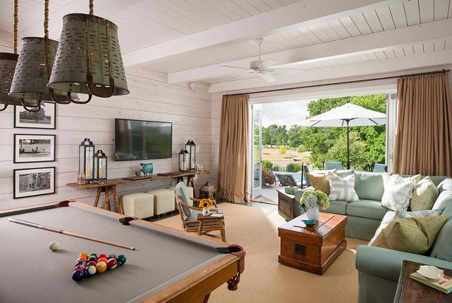 ◆Authentic Farmhouse just outside of Dallas, TX.  Inspiring Interiors by Marci Barnes - the Pool House◆