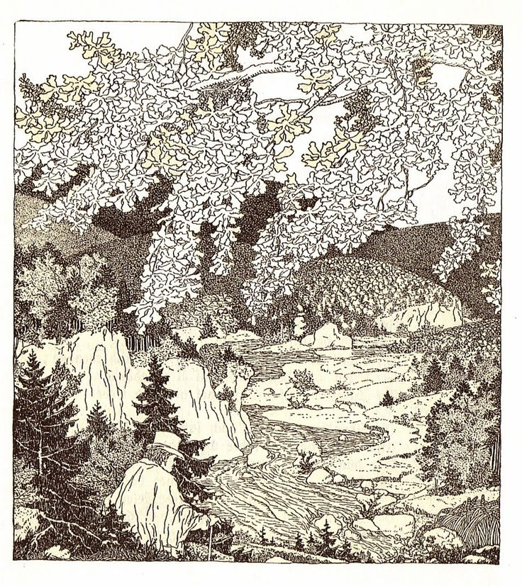 The Art of Pierangelo Boog: Ferdinand Staeger illustrations for Ludwig Uhland Poems (part1)