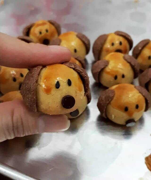 Resep Nastar Doggy Character Dan Cara Membuat Kue Kering Nastar Bentuk Doggie Lengkap Bahan Bahan Bikin Cookies Nastar Doggies Lengkap Tu Nastar Kue Kering Kue