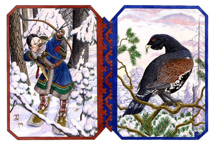 Khanty hunter by N. D. Fomin( Krasnoyarsk, Russian Federation)