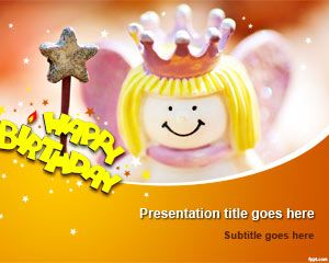 14 best happy birthday backgrounds for powerpoint images on happy birthday powerpoint template toneelgroepblik Images