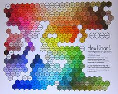 Copic Marker Color Chart Hex