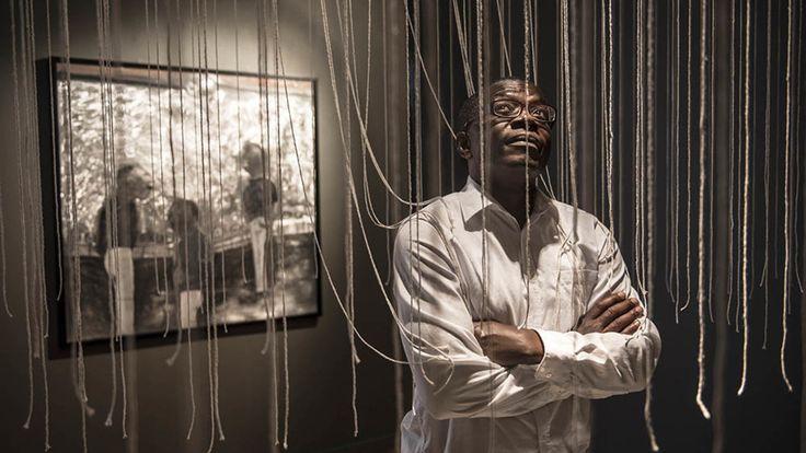 Camerroonina artist Joel Mpah Dooh