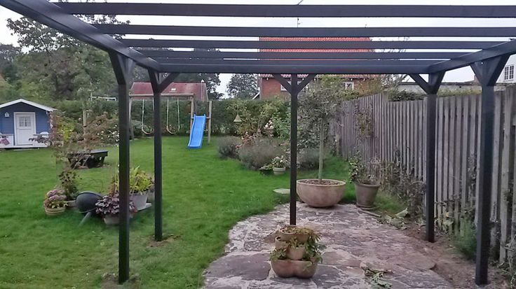Pergola in my garden. Just built it DIY version.