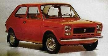Fiat 127- la mia prima auto(era blu)