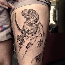 Jurassic Park Velociraptor Skeleton Tattoo 1000+ images ab...