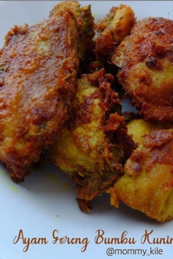 Ayam Goreng Bumbu Kuning Sedap Resep Ayam Ayam Goreng Makanan