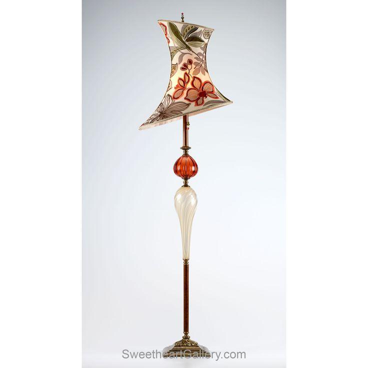 50 best stuff for new addition images on pinterest blown for Designer glass floor lamp