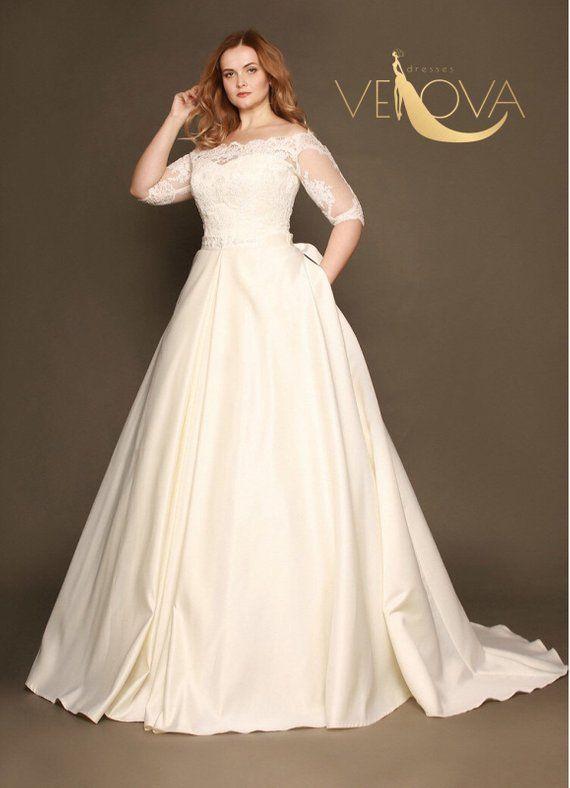 c5b0c01ce6 Plus Size Wedding Dress