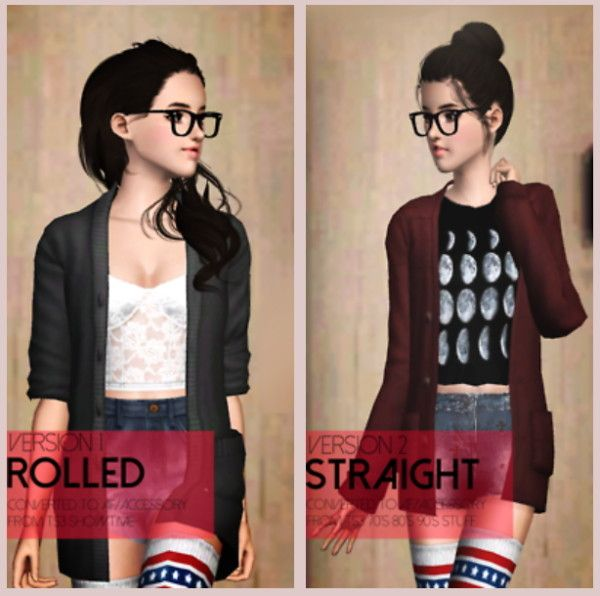 Sims houses and stuff Weather Sweaters converted accessories by Dumbobs - Sims 3 Downloads CC Caboodle