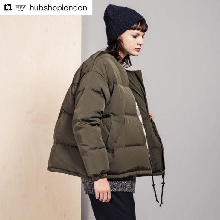 New work  #Repost @hubshoplondon with @repostapp  The insulated puffer Dood Coat in Kaki Forest by French label Sessùn has a water-repellent twill leather zip pull and adjustable waist drawstring to keep you warm and dry this winter. Shop our women's coats and jackets online and in store this weekend.   #hubshop #aw16 #coats #jackets #winter #keepdry #frenchdesign #handpicked #womenswear #bomberjacket  #puffercoat #sessun