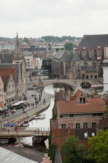 Gante, Belgium | Family Vacation Ideas