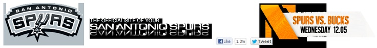THE OFFICIAL SITE OF THE SAN ANTONIO SPURS