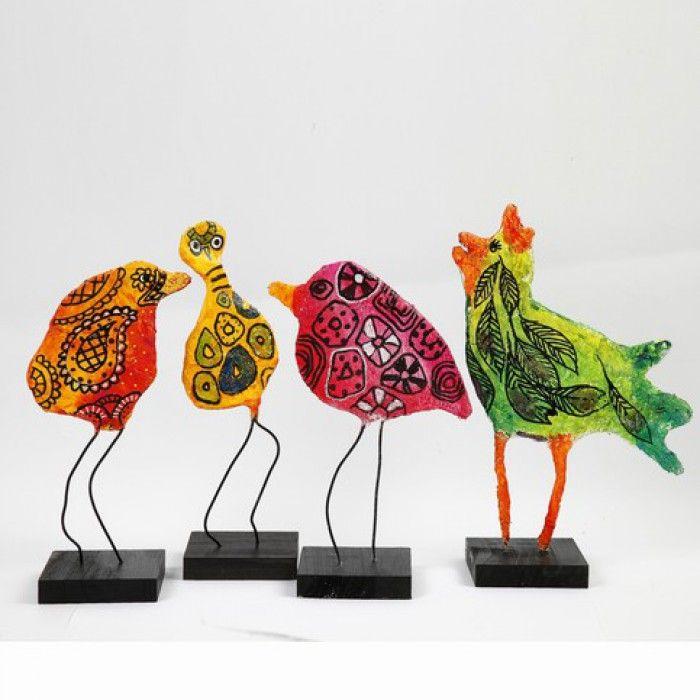 kleurrijke vogels knutselen - Google zoeken