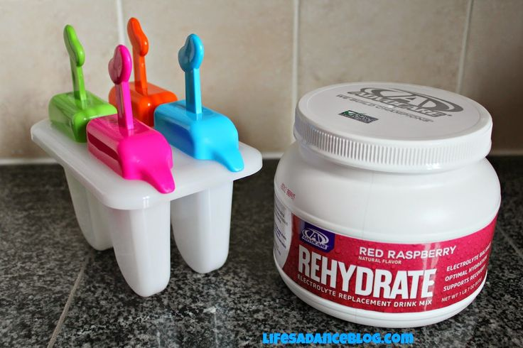 Advocare's Rehydrate Popsicles! A delicious summer treat that is great for you!