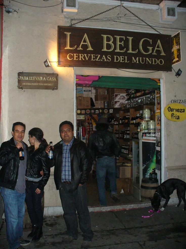 La Belga, cervezas del mundo. Un lugar donde la cultura cervecera es lo más importante. Colonia Roma, México