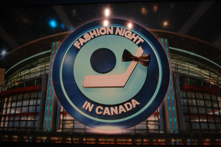 What do you think about the special Fashion Night in Canada logo?