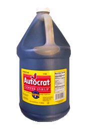 Autocrat Coffee Syrup Case 4 /1 Gal.
