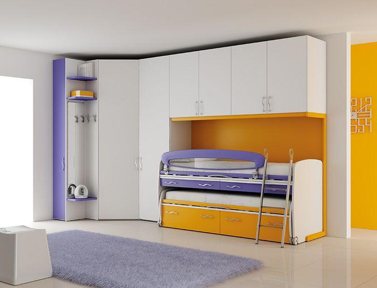#Arredamento #Cameretta Moretti Compact: Catalogo Start Solutions 2013 >> LH32 http://www.moretticompact.it/start.htm