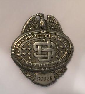 Railroad Police Badges