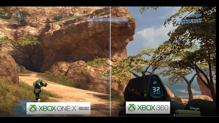 Halo 3  Xbox One X vs  X360 Graphics Comparison