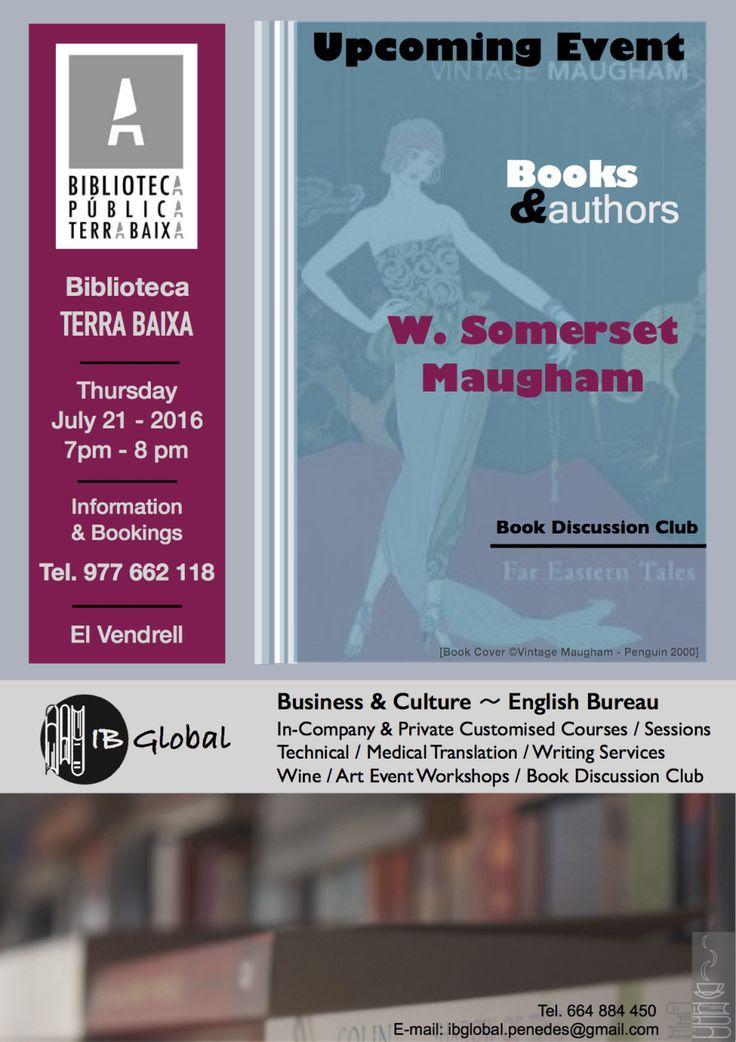 Books & Authors - Book Discussion Club