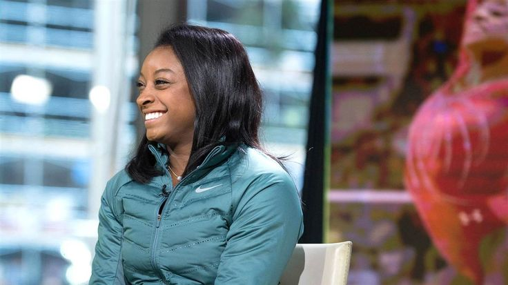 """Gymnast Simone Biles tells TODAY that meeting Zac Efron and Hoda Kotb was second only to competing in the Olympics among key moments in her life. But the four-time gold medalist reveals that the road to Rio was often difficult in her new book, """"Courage to Soar,"""" which also touches on her biological mother."""