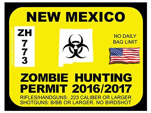 17 best images about zombie hunting permits on pinterest for New mexico fishing license