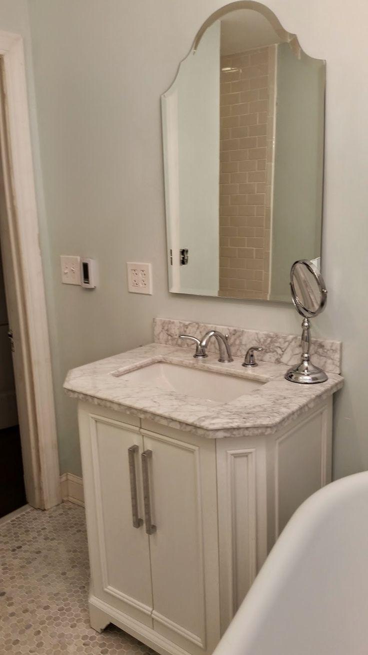 Bathroom paint ideas behr - Bathroom Paint Color Behr Mountain Peak White