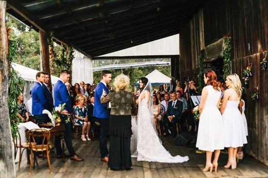 Alethea & Matthew's Italian Country Inspired Barn Wedding on Polka Dot Bride. Flowers, Styling and Hire by Botanica Naturalis. Photography by Carla Atley.