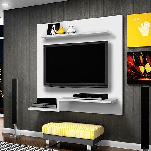 Painel para TV até 47 Zafira Branco - Madetec