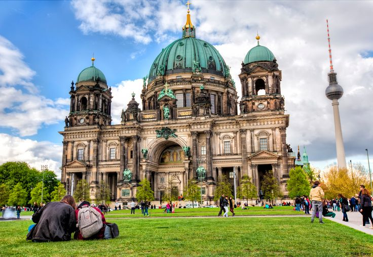 The Berlin Cathedral, built on an island in the river Spree. #germany25reunified Enter the #InspiredBy Pinterest Contest for your chance to win a trip to Germany!