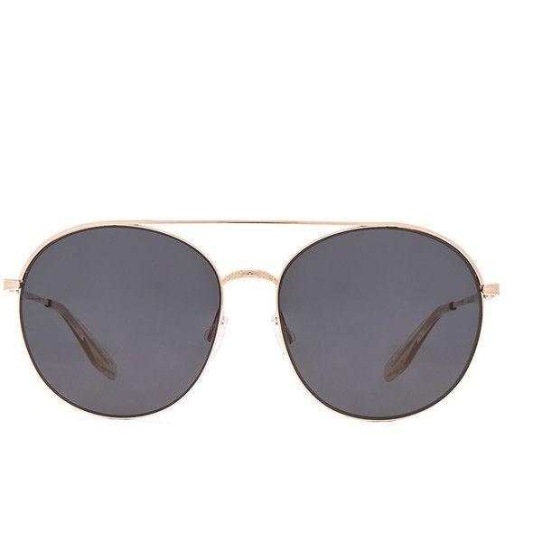 Barton Perreira FWRD Exclusive Luna Sunglasses ($510) via Polyvore featuring accessories, eyewear, sunglasses, lens glasses, barton perreira, barton perreira glasses, barton perreira eyewear and barton perreira sunglasses