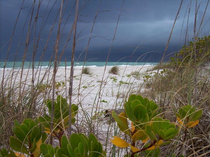 Storm Little Gasparilla Island