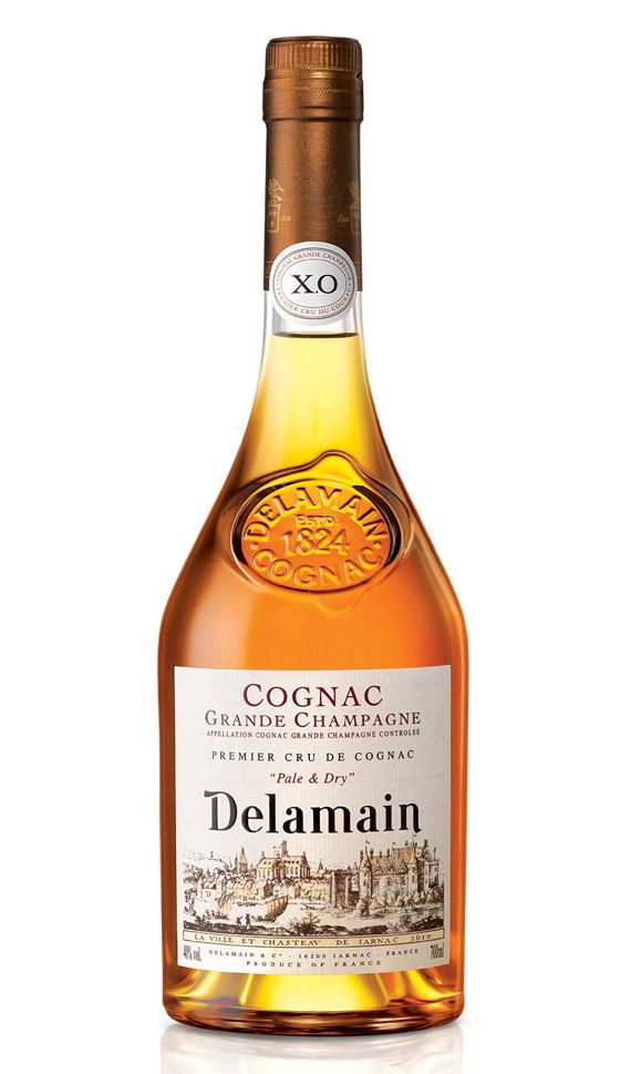 The #Delamain Pale & Dry XO is a blend of various old Grande Champagne #cognacs that are appropriately aged and then matured in well seasoned Limousin oak casks. It is so named because in appearance it is much paler than other cognacs of this age and 'dry' because it has only its natural sweetness.